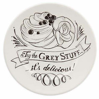 Disney Parks Be Our Guest Try the Grey Stuff Dessert Plate New