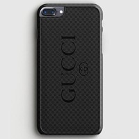 Gucci Black Emboss iPhone 8 Plus Case | casescraft