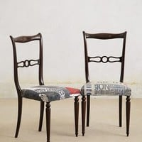 Draga Obradovic Hinged Dining Chairs