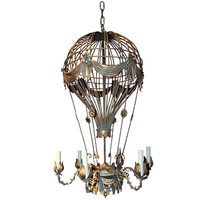 Hot Air Balloon Chandelier