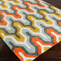 Zipcode™ Design Elisa Orange/Red Area Rug