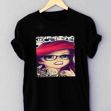 Tattooed Ariel - T Shirt for man shirt, woman shirt XS / S / M / L / XL / 2XL / 3XL **