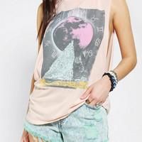 Urban Outfitters - Corner Shop Ecliptic Moon Muscle Tee