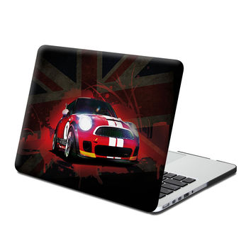 Hard Case Print Frosted (Mini Cooper Image) for 13 Macbook Pro with Retina Display
