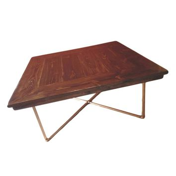 Square Industrial Dining table