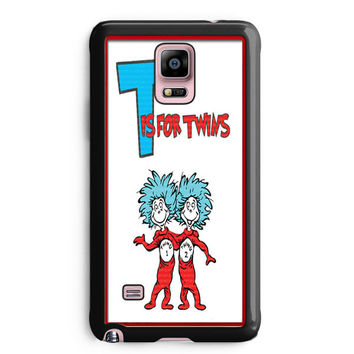 Thing 1 And Thing 2 Samsung Galaxy Note 4 Case Aneend