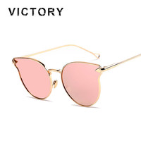 2016 Italy Famous Hipster Brand Designer Women Sunglasses New Cat Eye Arrow Shapes Mirror Oval Cateye Men Sun glasses Hot Sale