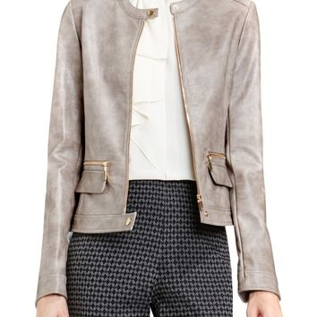 Vince Camuto Faux Leather Moto Jacket | Nordstrom