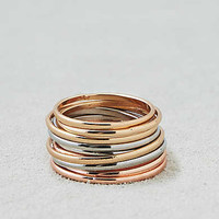 AEO Mixed Metals Ring Pack , Mixed Metal
