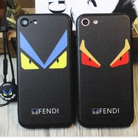 FENDI iPhone Phone Cover Case For iphone 6 6s 6splus 7 7plus hard shell
