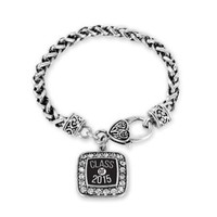 Class of 2015 Back to School Graduation gift for College or High School Students Freshmen or Seniors Charm Bracelet:Amazon:Jewelry