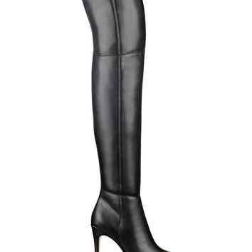 Zonian Faux-Leather Over-the-Knee Boots | GUESS.com