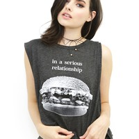 Wildfox Heart Eyes Chad Tank in Clean Black | Boutique To You