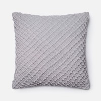 Loloi Grey Decorative Throw Pillow (P0125)