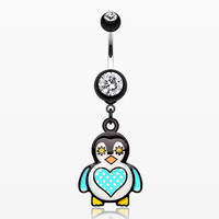 Chubba Wubba Penguin Belly Button Ring