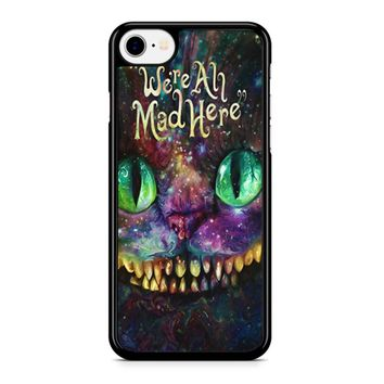 We Are All Mad Here Alice In Wonderland Iphone 8 Case