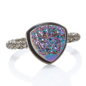 CUSP | Accessories | Jewelry | All Jewelry | Nadia Triangular Disco Ball Ring (Stylist Pick & Cusp Most Loved!)