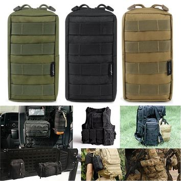 Molle Pouches Tactical Compact Water-resistant EDC Pouch Utility Gadget Gear Hanging Waist Bags