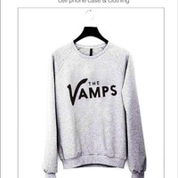 The Vamps Sweater ready for Black, Red and Gray Color