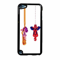 Disney Tangled And Spiderman iPod Touch 5th Generation Case
