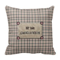 Lil Bit Country Pillow