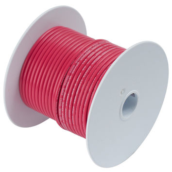 Ancor Red 10 AWG Tinned Copper Wire - 25'