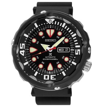 Seiko SRP655 Men's Diver Watch 50th Anniversary Automatic Stainless Steel & Ceramic Case