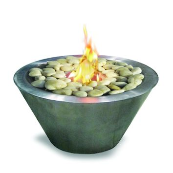 Oasis Indoor Outdoor Bio-Ethanol Fireplace - Home Decor | Anywhere Fireplace