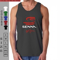 Ayrton Senna | Tank Top man and woman |