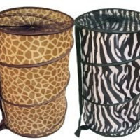 Home Basics Animal Printed Collapsible Hamper