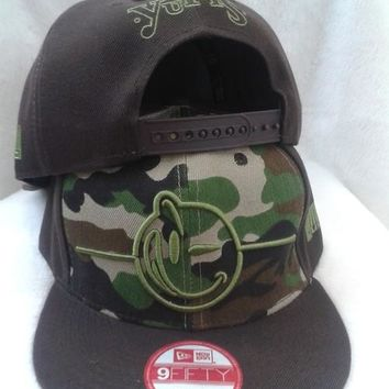 Yums Classic Face Floral Cap Snapback Hat - Ready Stock