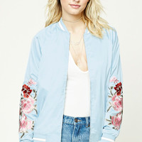 Contemporary Satin Jacket