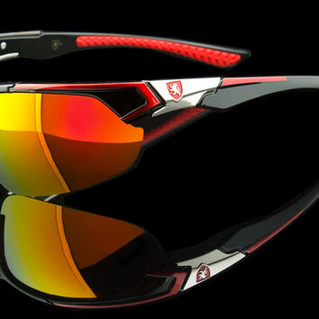 "Exotic Sport Wraparound Sunglasses ""Alpine"""