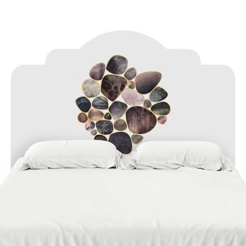 Rock Collection Headboard Decal