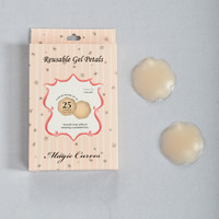 Full Bloom Gel Breast Petals - Nude