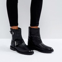 Office Ammunition Biker Boots at asos.com