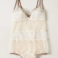 Anthropologie - Lace Inset Romper