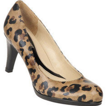 Naturalizer Lennox - Jungle Snake/Black Shiny PU - Free Shipping & Return Shipping - Shoebuy.com