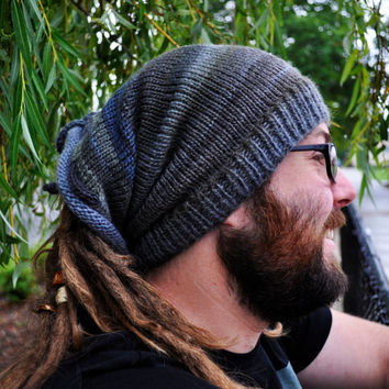 Weeping Willow Shape-Shifter: Dread Hat Beanie Scarf