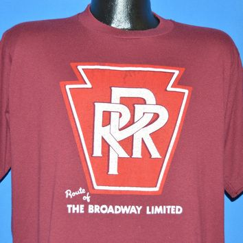 80s Pennsylvania Railroad Broadway Limited t-shirt Large