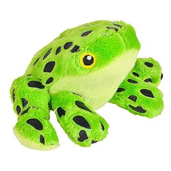 Wildlife Tree 3.5 Inch Green Poison Dart Frog Mini Small Stuffed Animals Bulk Bundle of Zoo Animal Toys or Jungle Safari Party Favors for Kids Pack of 12