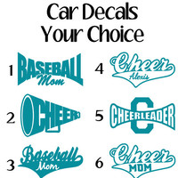 Sports Car Decals, Window Sticker