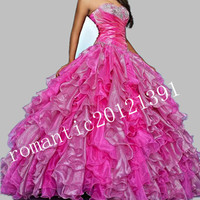 New Quinceanera Dress Wedding Dresses Prom Party Ball Gown Size 2.4.6to16/Custom