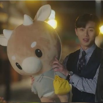 Korean drama The same paragraph Cattle doll Pu Minying Cow plush toy Korean drama TV -- Why did Jin Secretary like