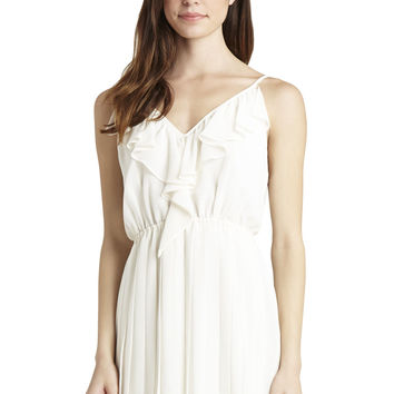 BCBGeneration - Ruffle Front Pleated Flounce