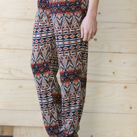 Palm Desert Harem Pants