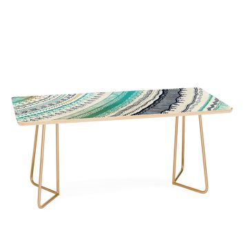 RosebudStudio Boho Fall Coffee Table