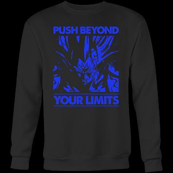 Super Saiyan Majin Vegeta push limits Sweatshirt T shirt - TL00225SW