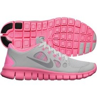 Nike Girls' Grade School Free 5.0 Running Shoe - Grey/Pink | DICK'S Sporting Goods