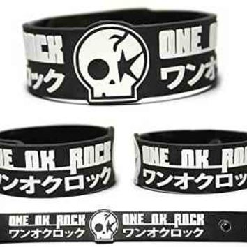 ONE OK ROCK Rubber Bracelet Wristband Jinsei ? Boku Zankyo Reference (1 Pc)